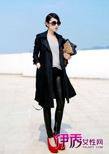 中国街拍|秋冬外套|秋冬搭配|长裤搭配