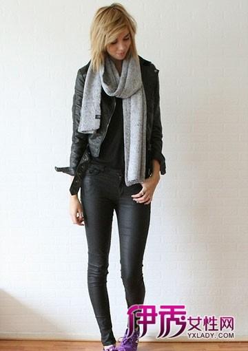 中性风秋冬搭配|欧美街拍|外套|长裤|绅士鞋